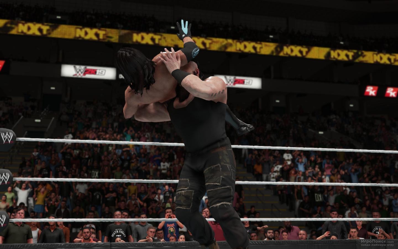 Скриншот к игре WWE 2K19
