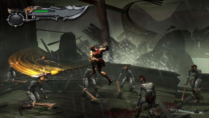 Скриншот к игре God of War: Ghost of Sparta