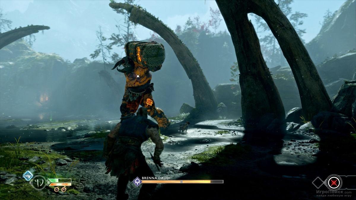 Скриншот к игре God of War 2018