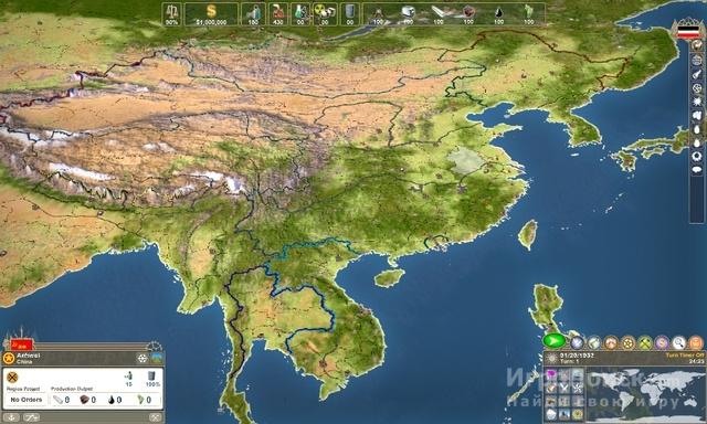 Скриншот к игре Making History 2: The War of the World