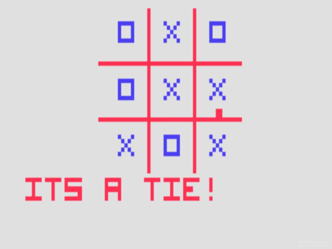 Скриншот к игре Tic-Tac-Toe