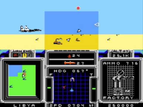 Скриншот к игре F-15 Strike Eagle
