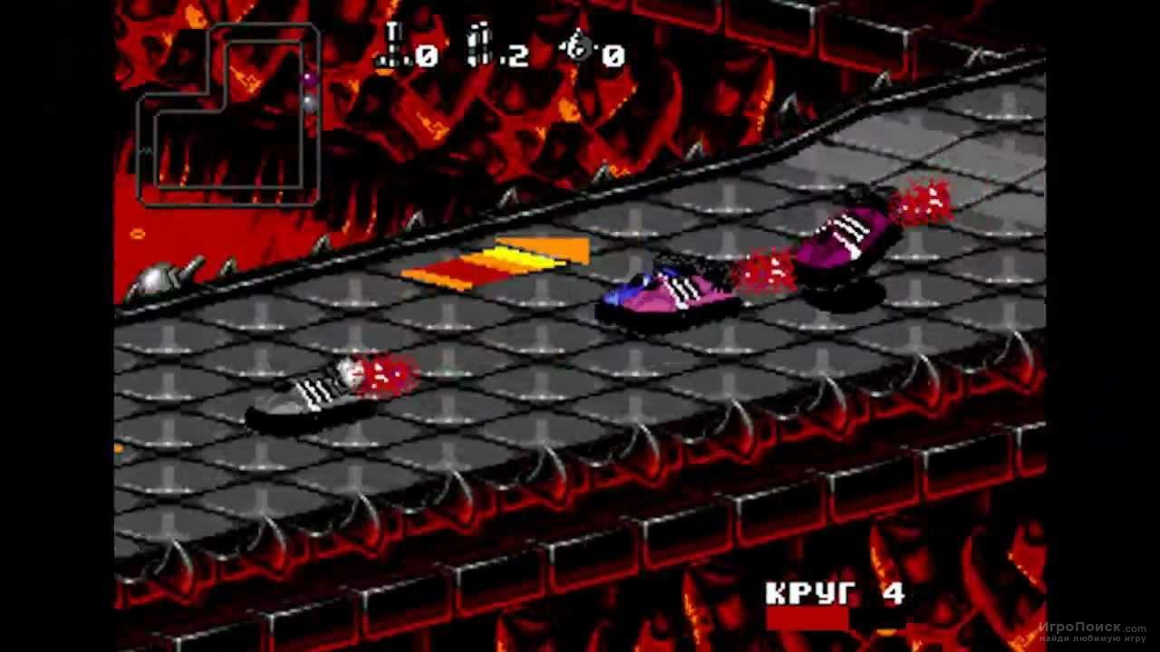 Скриншот к игре Rock n' Roll Racing