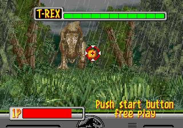 Скриншот к игре Jurassic Park 1994