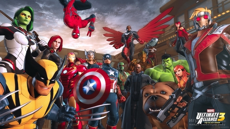 Скриншот к игре Marvel Ultimate Alliance 3: The Black Order