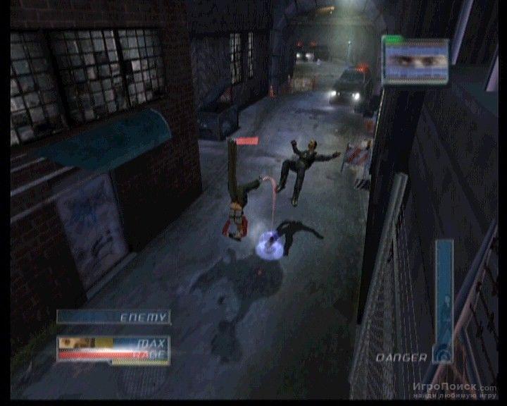 Скриншот к игре James Cameron's Dark Angel