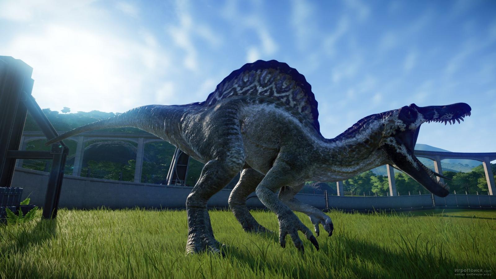 Скриншот к игре Jurassic World: Evolution