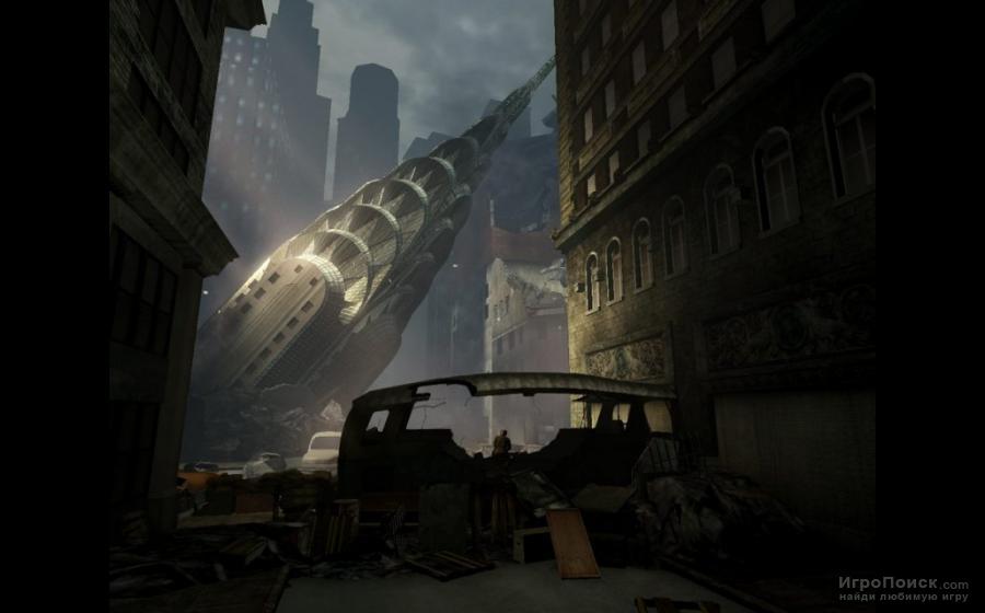Скриншот к игре Turning Point: Fall of Liberty