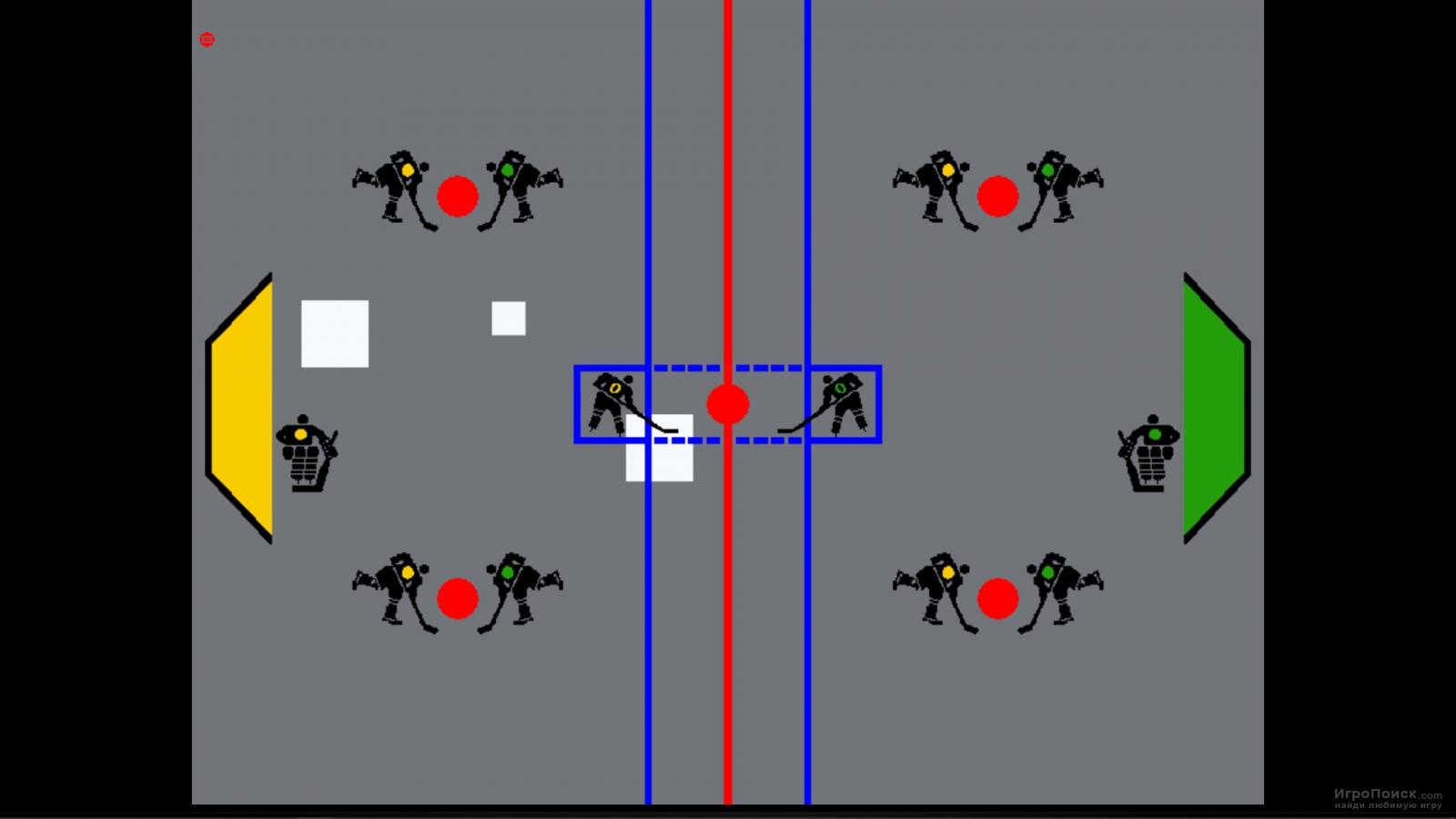 Скриншот к игре Hockey 1972