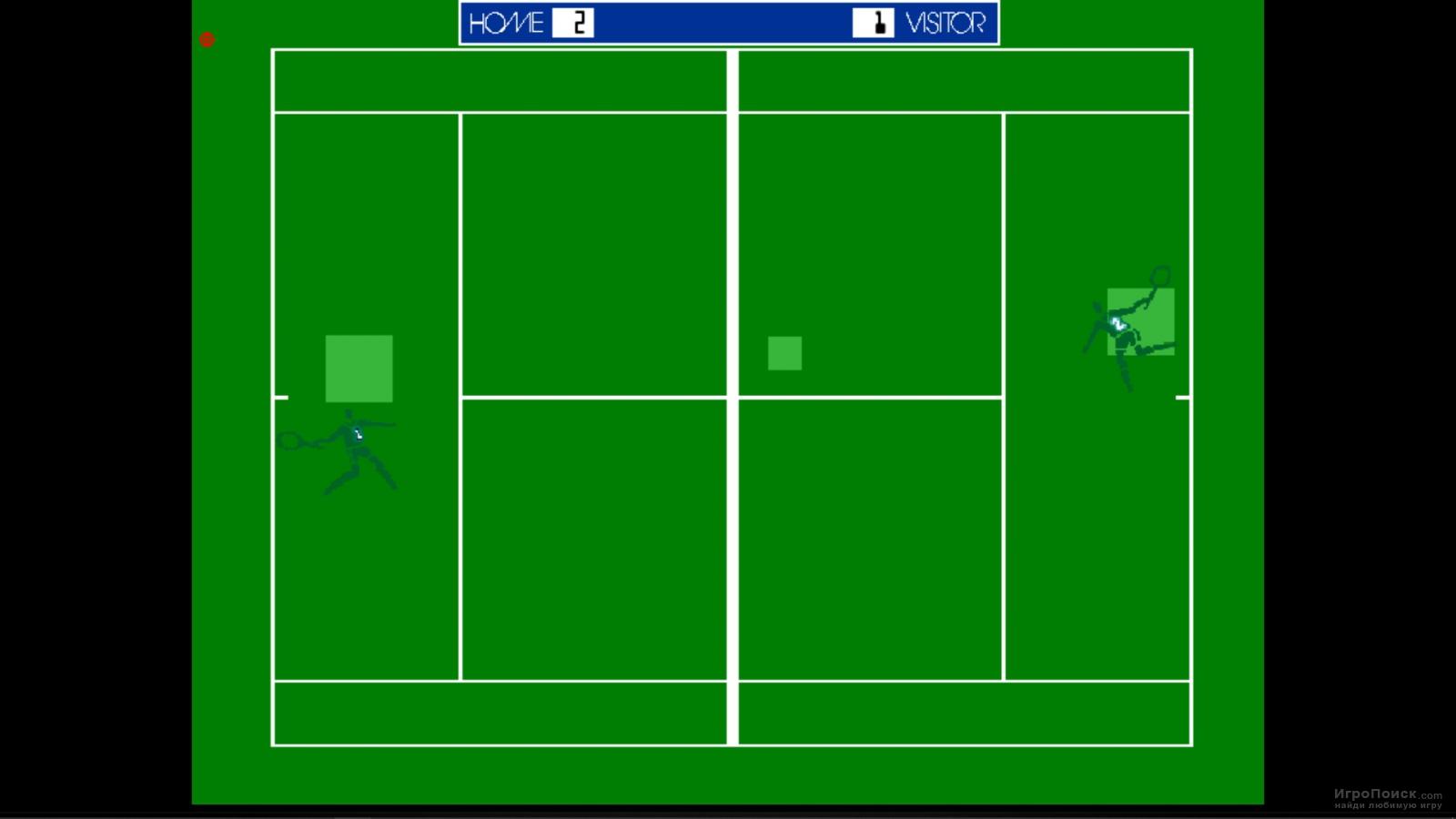 Скриншот к игре Tennis 1972