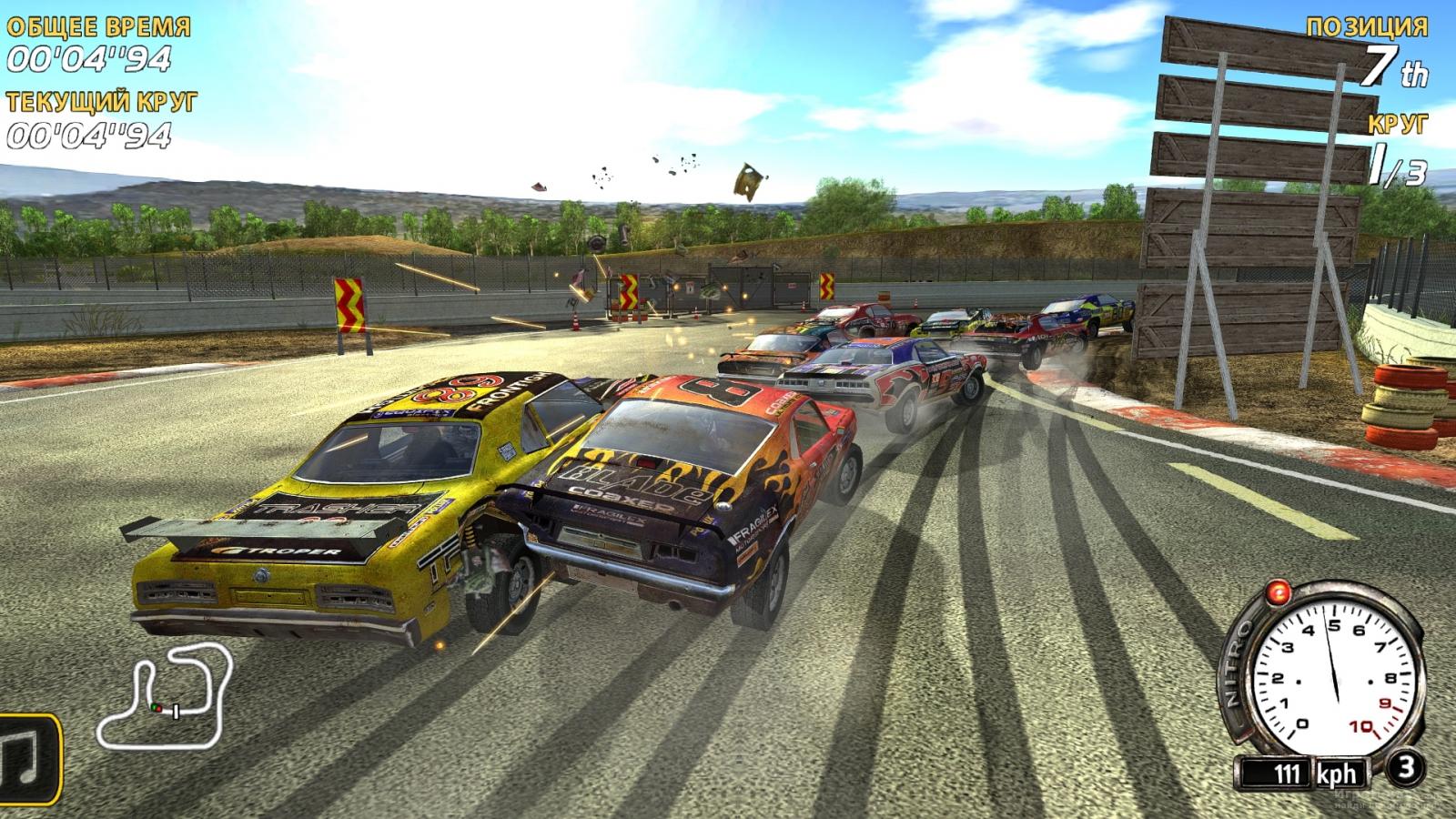 Скриншот к игре FlatOut