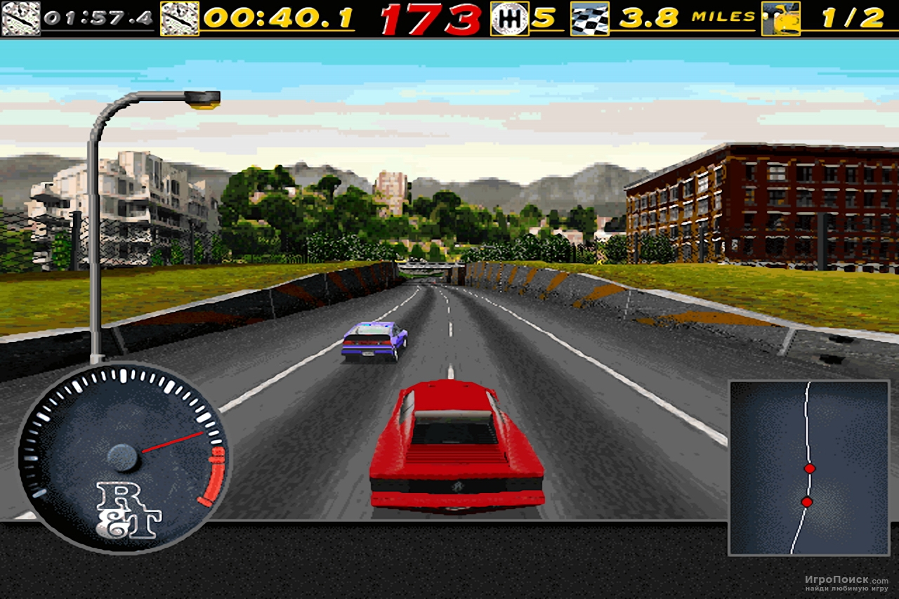 Скриншот к игре The Need for Speed: Special Edition