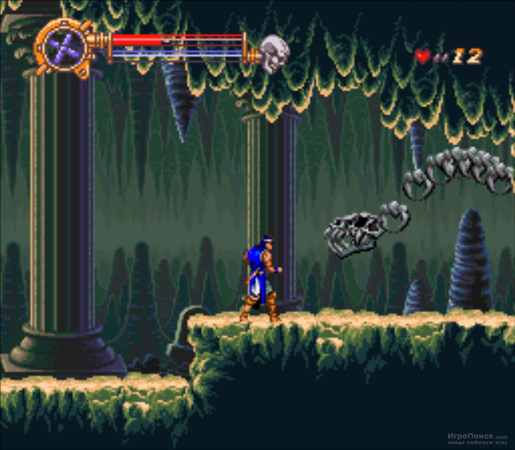 Скриншот к игре Castlevania: Dracula X