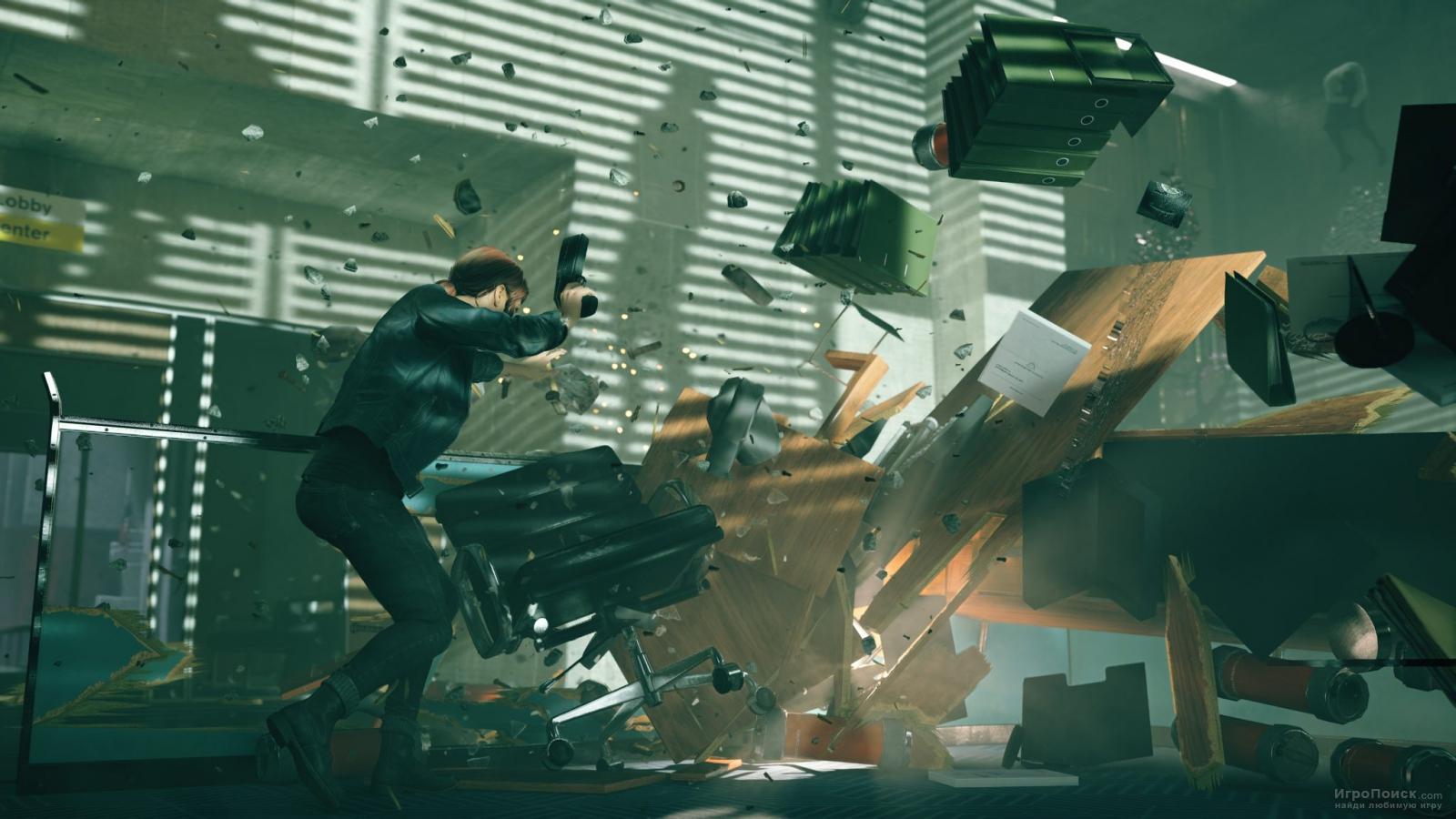 Скриншот к игре Control