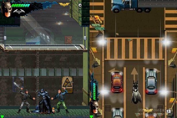 Скриншот к игре The Dark Knight Rises: The Mobile Game