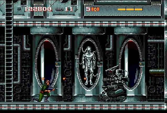 Скриншот к игре The Terminator for Sega CD