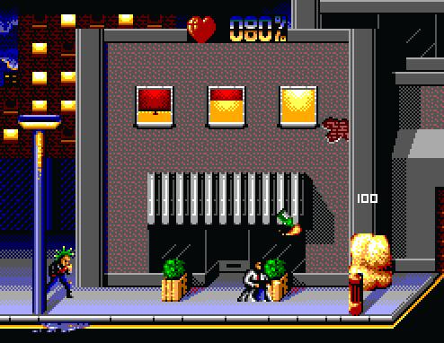 Скриншот к игре The Terminator for Sega Mega Drive