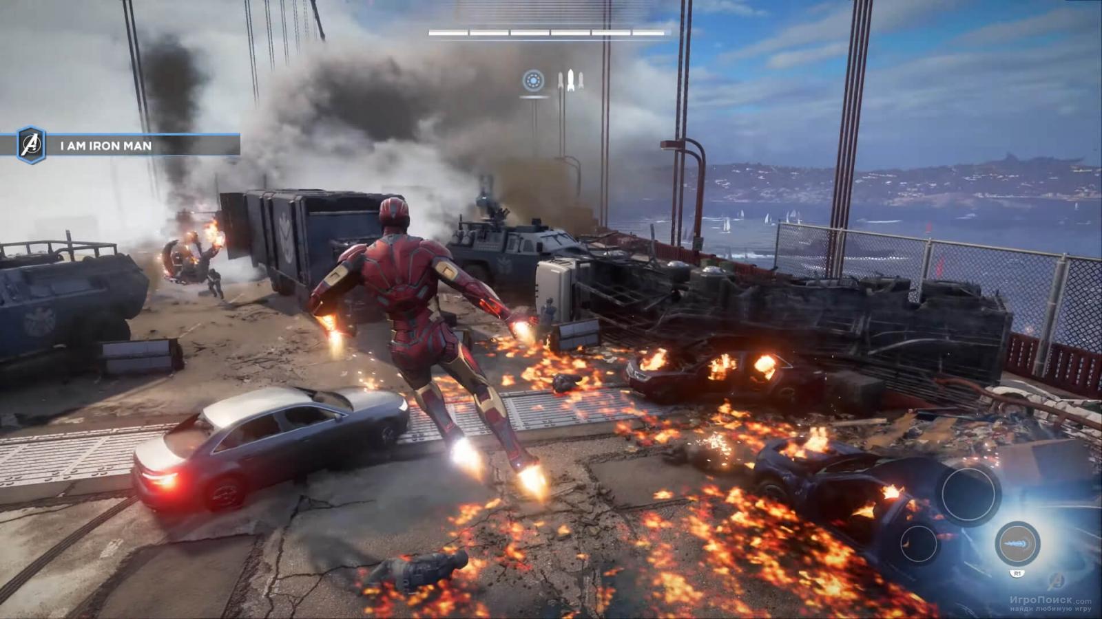 Скриншот к игре Marvel's Avengers