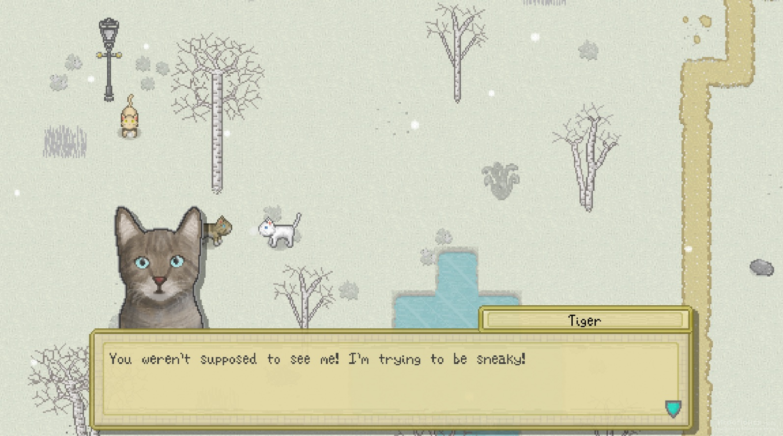 Скриншот к игре Cattails: Become a Cat!
