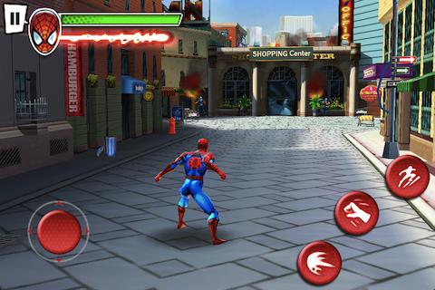 Скриншот к игре Ultimate Spider-Man: Total Mayhem