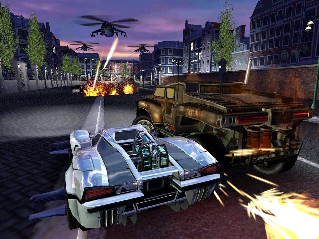 Скриншот к игре Spy Hunter