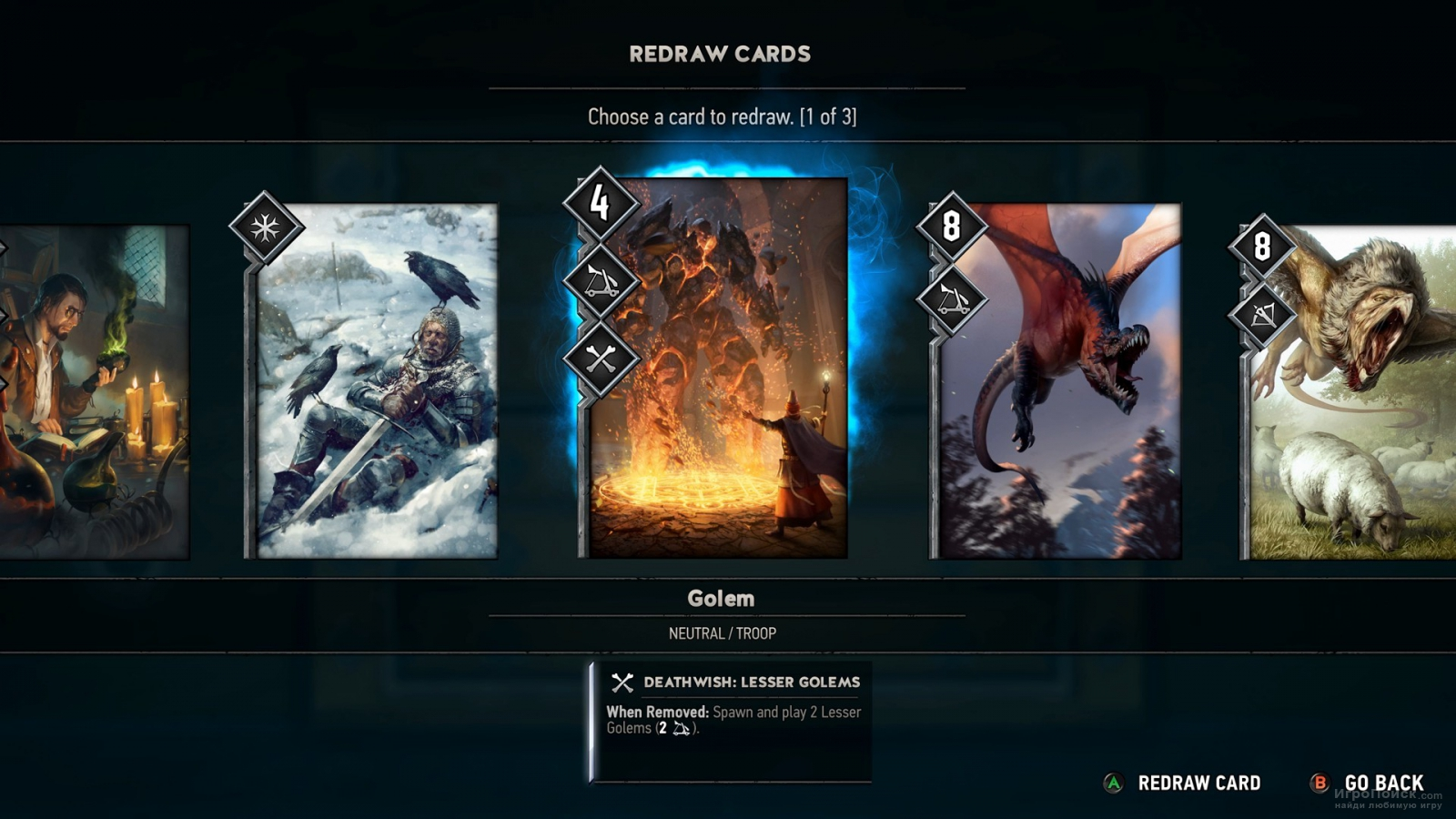 Скриншот к игре Gwent: The Witcher Card Game