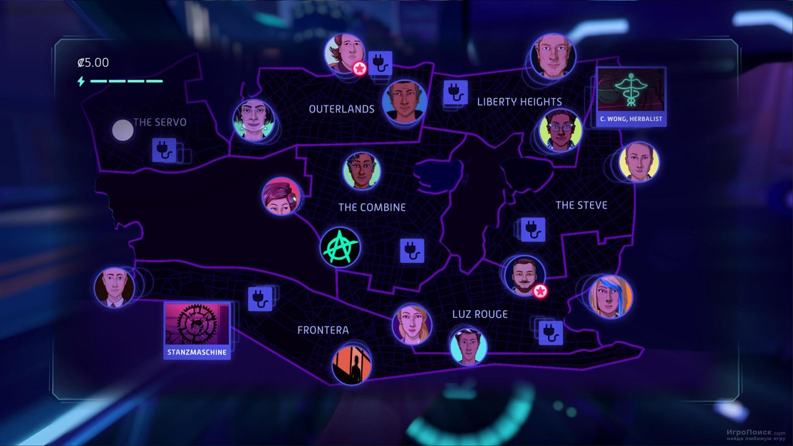 Скриншот к игре Neo Cab
