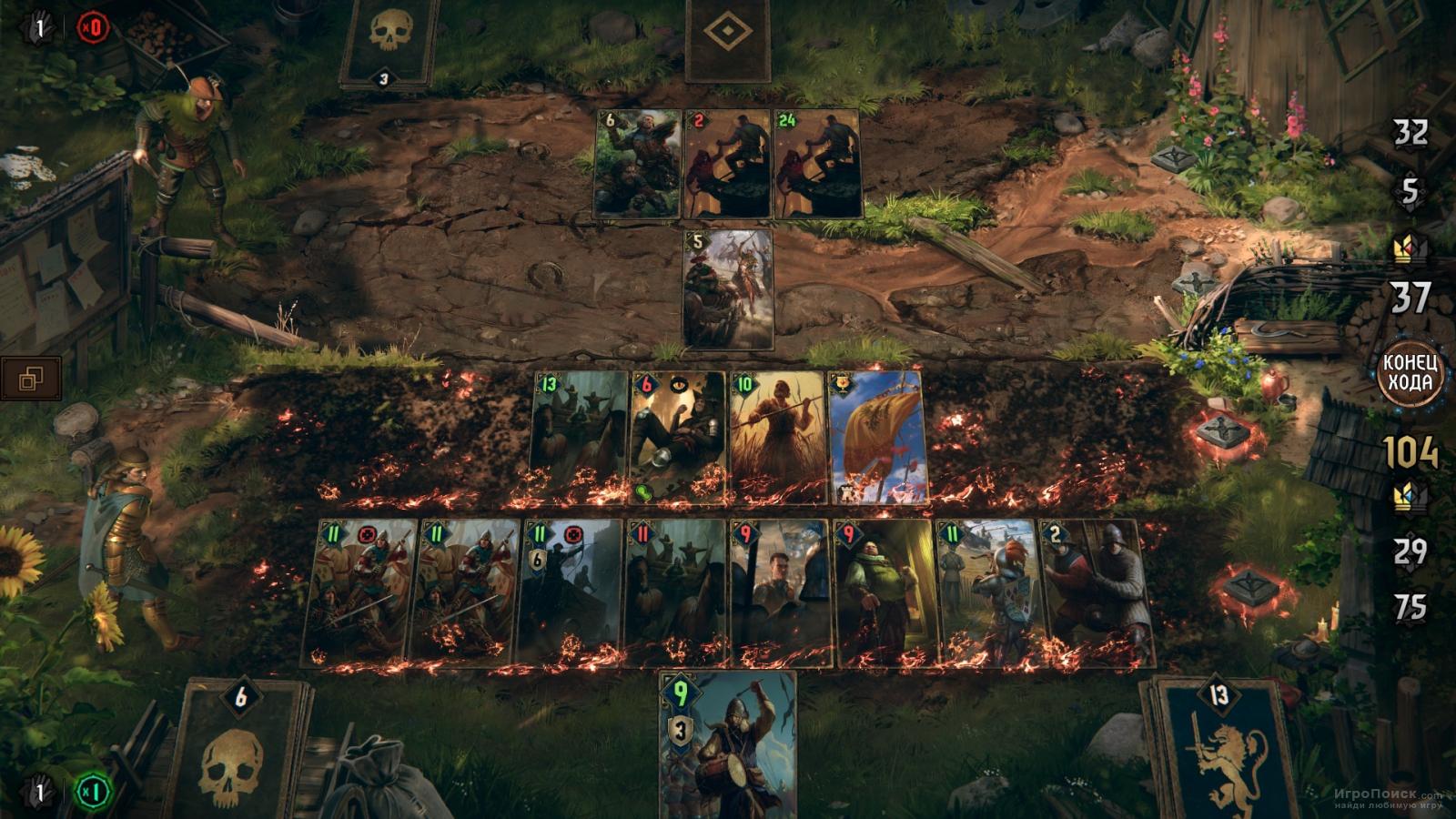 Скриншот к игре Thronebreaker: The Witcher Tales