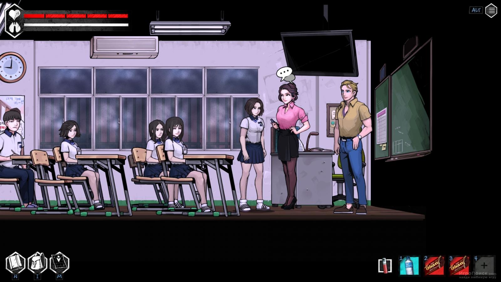 Скриншот к игре The Coma 2: Vicious Sisters