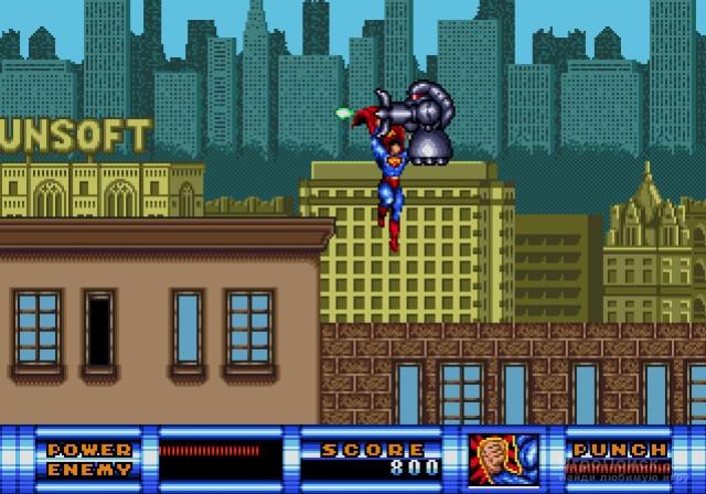 Скриншот к игре Superman 1993