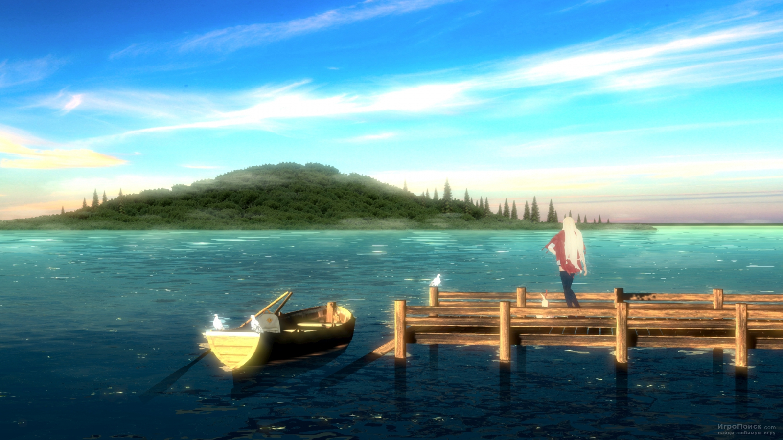 Скриншот к игре The Missing: J.J. Macfield and the Island of Memories
