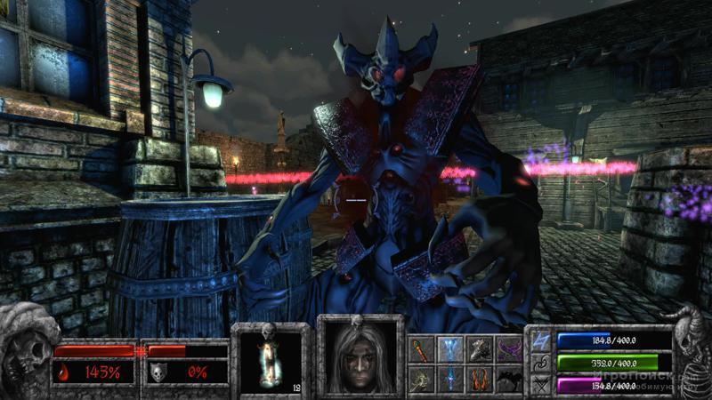 Скриншот к игре Apocryph: an old-school shooter