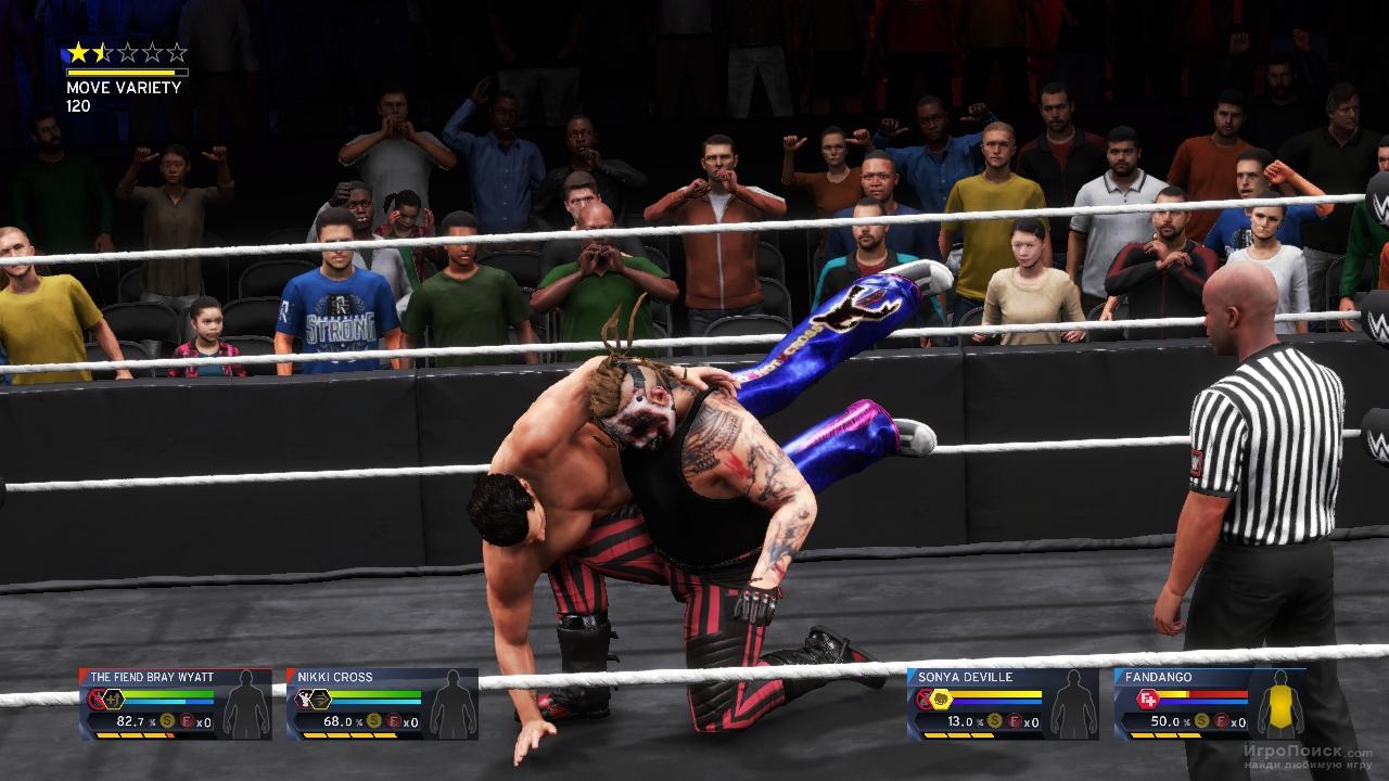 Скриншот к игре WWE 2K20
