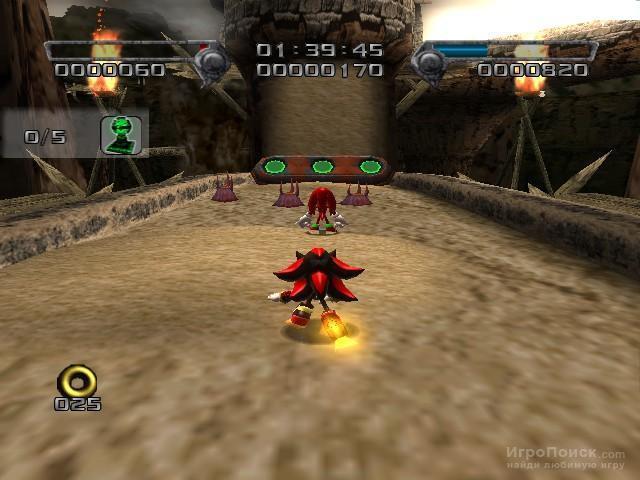 Скриншот к игре Shadow the Hedgehog