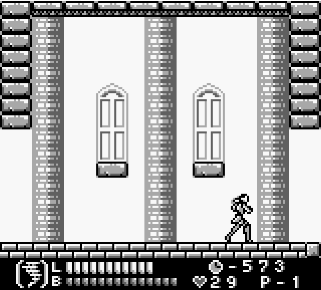 Скриншот к игре Castlevania Legends