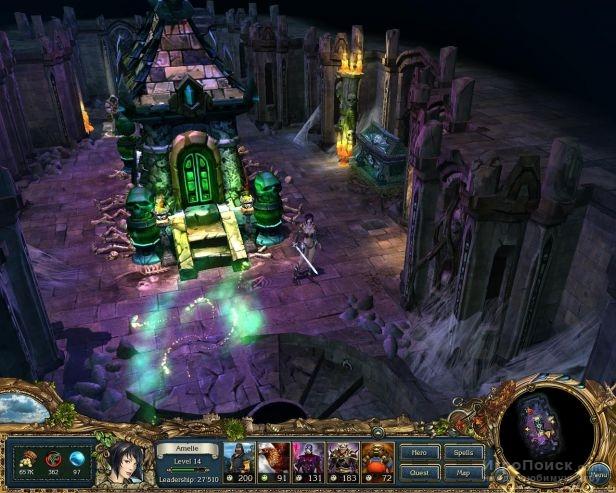 Скриншот к игре King's Bounty: Crossworlds