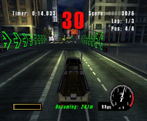 Скриншот к игре Burnout