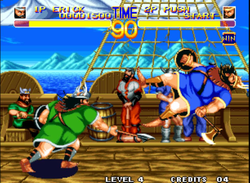 Скриншот к игре World Heroes 2
