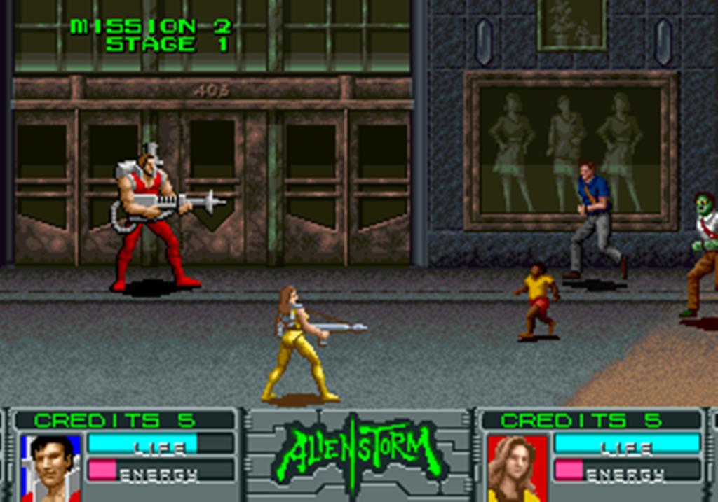 Скриншот к игре Alien Storm
