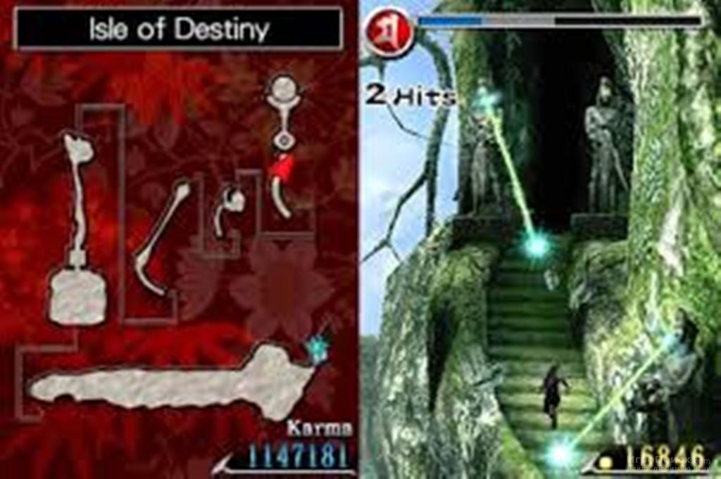 Скриншот к игре Ninja Gaiden: Dragon Sword