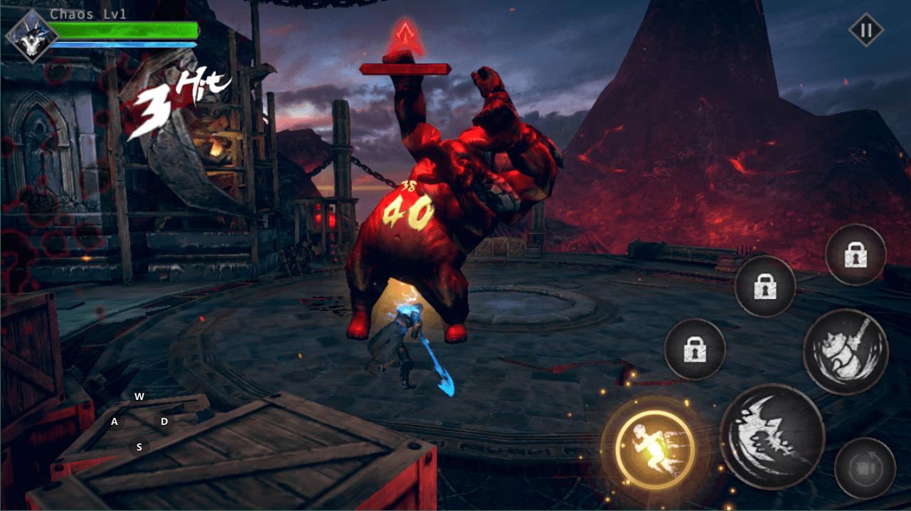 Скриншот к игре Blade of God: Vargr Souls