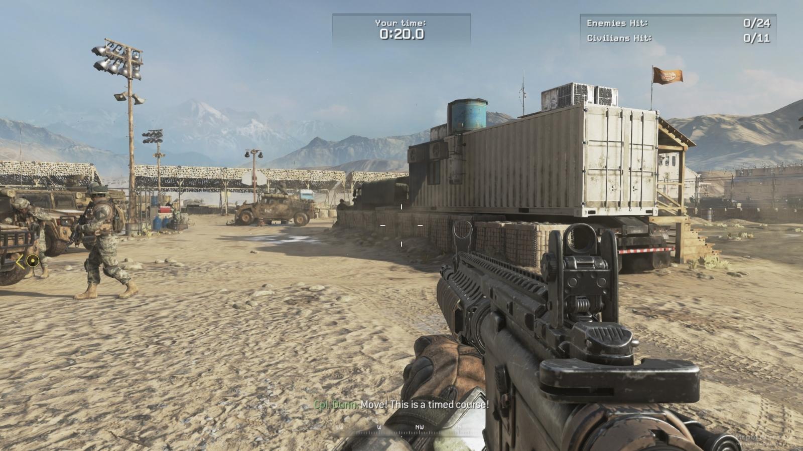 Скриншот к игре Call of Duty: Modern Warfare 2 Campaign Remastered