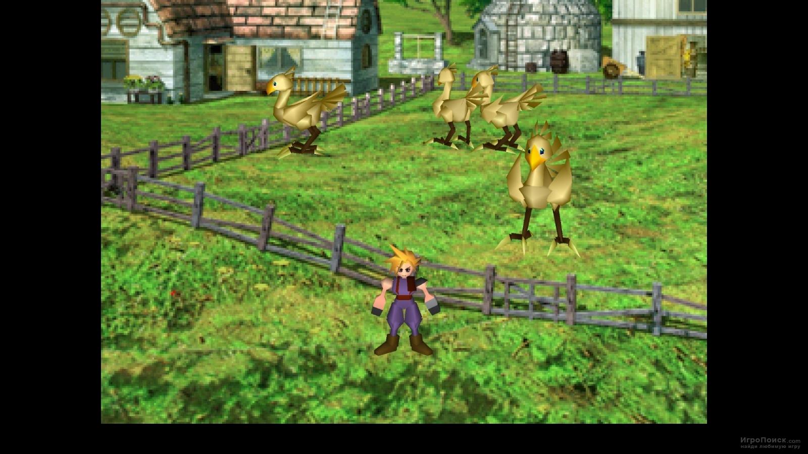 Скриншот к игре Final Fantasy VII