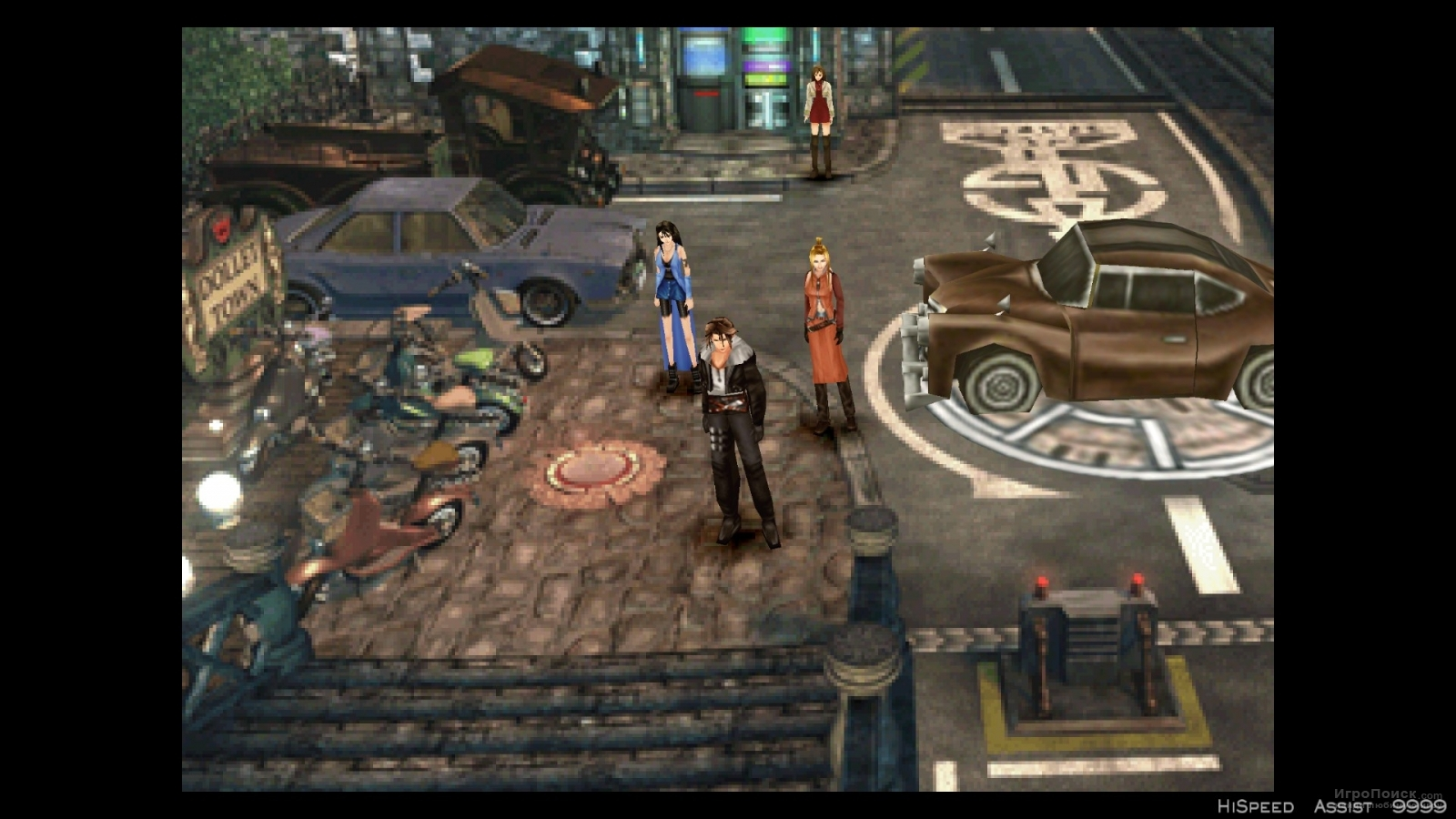Скриншот к игре Final Fantasy VIII