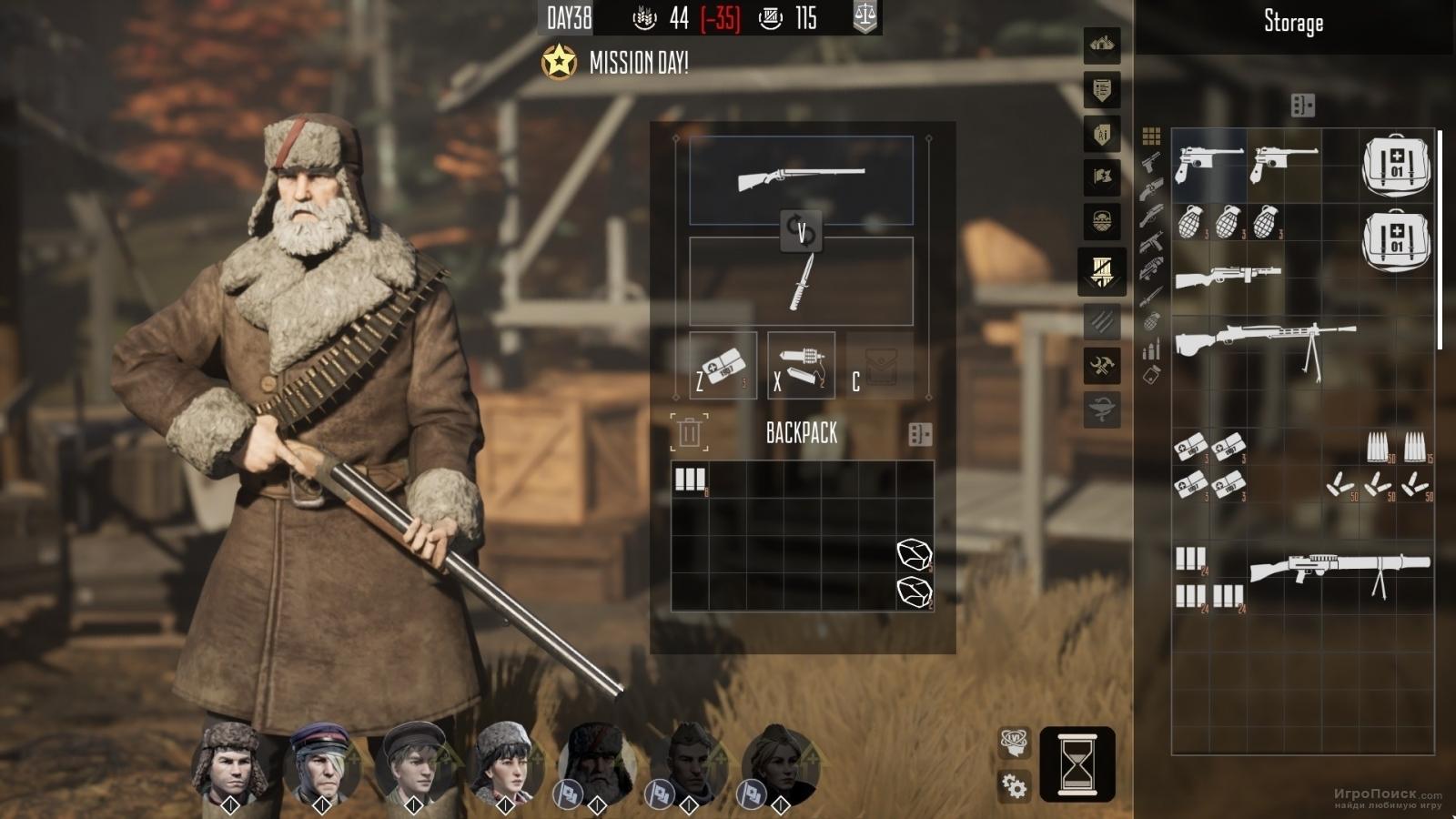 Скриншот к игре Partisans 1941