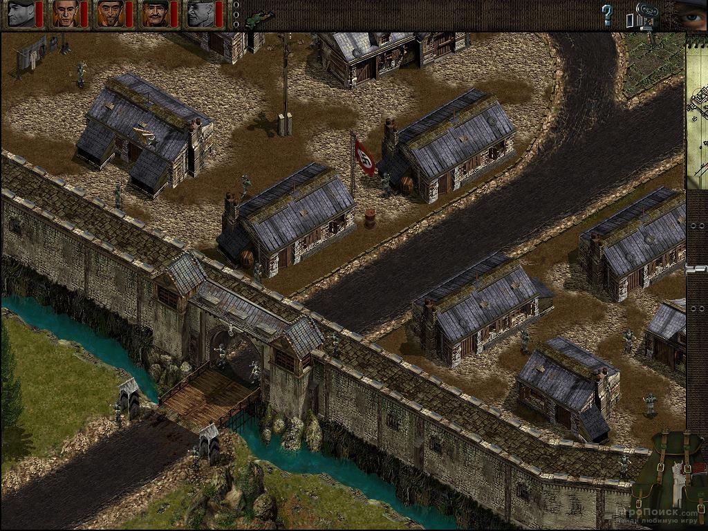 Скриншот к игре Commandos: Behind Enemy Lines