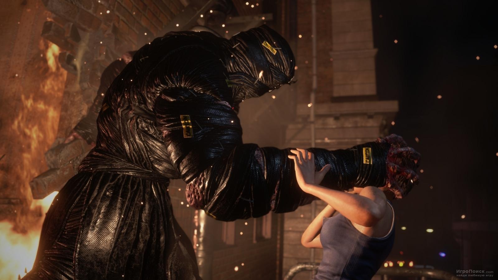Скриншот к игре Resident Evil 3 2020