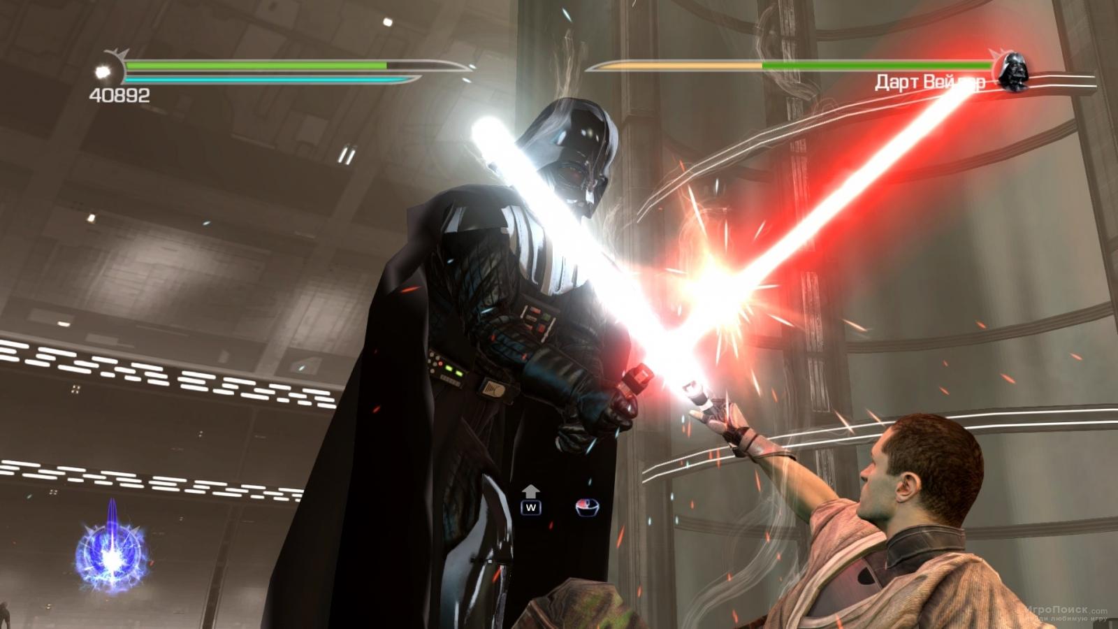 Скриншот к игре Star Wars: The Force Unleashed II