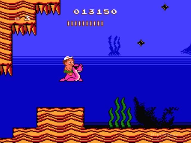 Скриншот к игре Adventure Island II