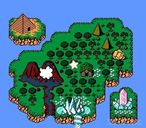 Скриншот к игре Adventure Island IV